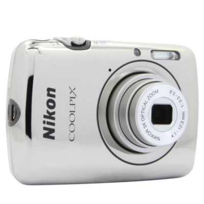 APN NIKON Pack Coolpix S01 Chrome + Etui