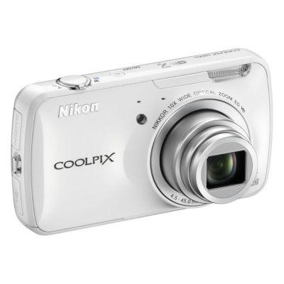 APN NIKON COOLPIX S800c Blanc