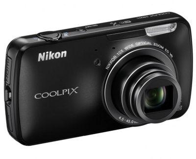 APN NIKON COOLPIX S800c Noir
