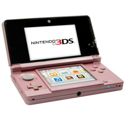 Console Nintendo 3DS XL rose