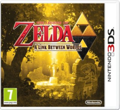 Jeu 3DS Zelda : A Link Between