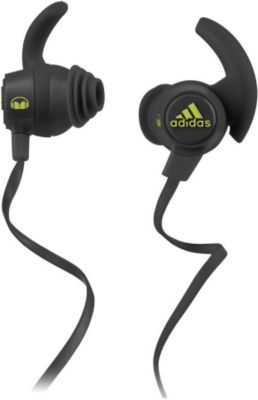 Casque intra MONSTERCABLE Earbud Adidas® gris jaune