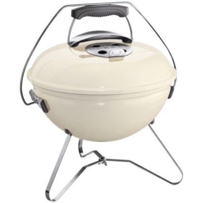 weber smokey joe premium 37cm ivory white barbecue charbon de bois boulanger. Black Bedroom Furniture Sets. Home Design Ideas