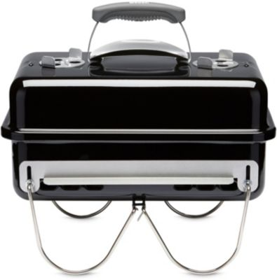 weber go anywhere black charbon barbecue charbon de bois boulanger. Black Bedroom Furniture Sets. Home Design Ideas