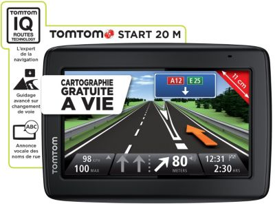 GPS TOMTOM Start 20M cartographie à vie