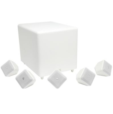 Pack 5+1 BOSTON Soundware XS blanc