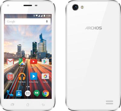Archos 50 Helium Plus – blanc givré – 4G LTE – 8 Go – GSM – Android smartphone