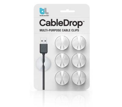 Accessoire BLUELOUNGE Pack 6 CableDrop blanc
