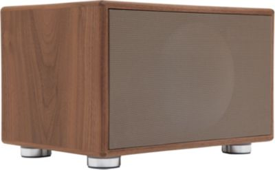 Enceinte Bluetooth Geneva Sound System Model M Walnut