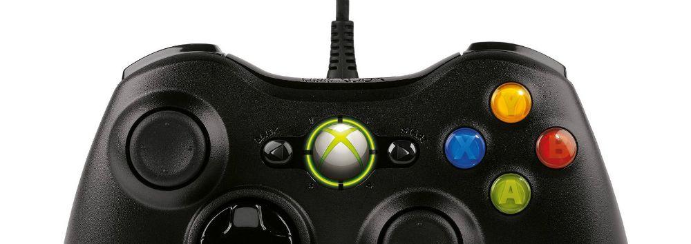 manette filaire Xbox360 et PC Microsoft