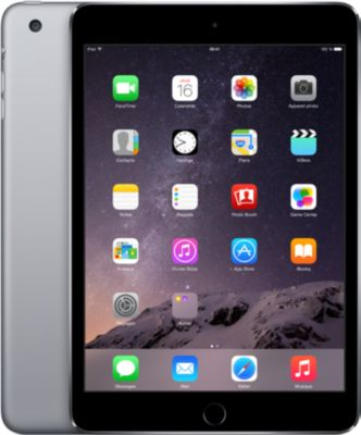 Tablette Apple IPAD Mini 3 128go gris sideral