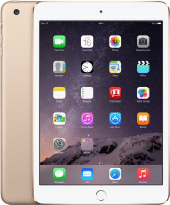 Tablette Apple IPAD Mini 3 16Go Or