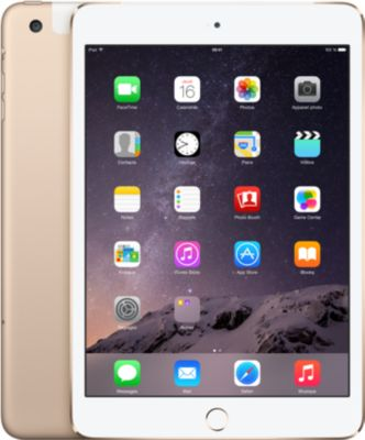 Apple iPad mini 3 Wi-Fi + Cellular – tablette – 128 Go – 7.9 » – 3G, 4G