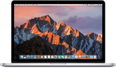 Apple MacBook Pro avec écran Retina – 15.4» – Core i7 – 16 Go RAM – 256 Go stockage flash – français