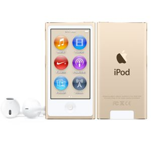 Lecteur Mp4 Apple Ipod Nouveau Nano 16 Go Or