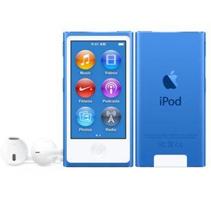 Lecteur Mp4 Apple Ipod Nouveau Nano 16 Go Bleu