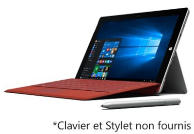 Tablette Windows Microsoft W10 Surface 3 128go