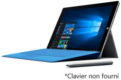 Tablette Windows Microsoft W10 Surface Pro 3 256go Intel Core I7