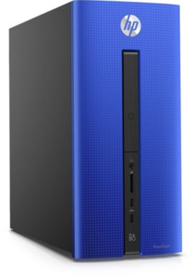 Unité Centrale Hp W10 550-159nf Bleu