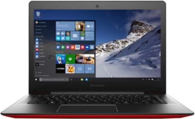 Ordinateur Portable Lenovo W10 U41-70-dfr Rouge
