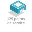 125 points Service