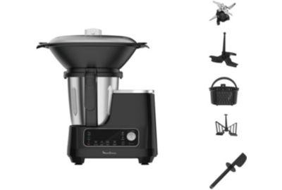 Robot MOULINEX Clickchef noir HF404110 + cuiseur vapeur