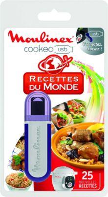 Moulinex cookeo 25 recettes du monde accessoire robot de for Robot cuisine cookeo