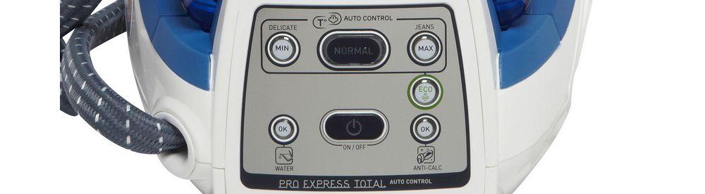 Calor gv8931co pro express total chez boulanger - Centrale vapeur sans reglage ...