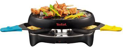 Tefal re11812 multicolore 2 coupelles raclette fondue boulanger - Raclette pour 12 personnes ...