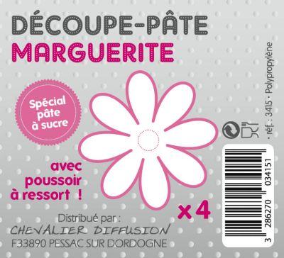 Atelier cuisine p te sucre marguerite x4 ustensile de for Marguerite ustensile cuisine