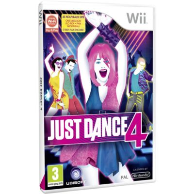 Jeu Wii UBI SOFT Just Dance 4