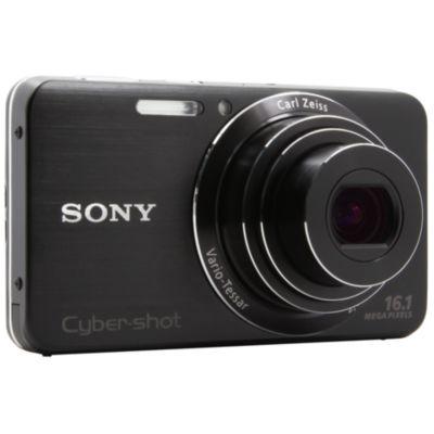 APN SONY Pack DSC-W630 noir + Etui + 4Go