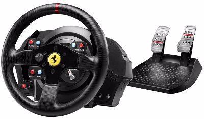 volant gamer Thrustmaster T300 Ferrari Racing Wheel, PS4 playstation 3 PC