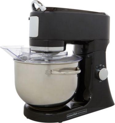 Robot pâtissier Kitchen Chef Robot pro patissier noir EF706B
