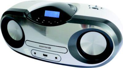 Radio Cd Essentielb Too Steel Bluetooth White