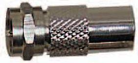Adaptateur antenne Essentielb F m�le/9,52 m�le