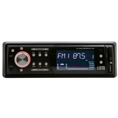 Autoradio Mp3 Listo Rdu230 Mp3/usb/sd/aux