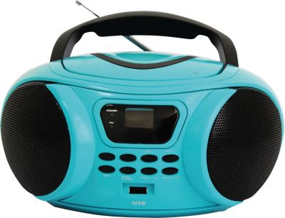 Radio Cd Essentielb Rumba Usb Bleu
