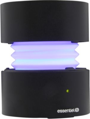 Enceinte Bluetooth Essentielb Too Spicy Ii Black Led