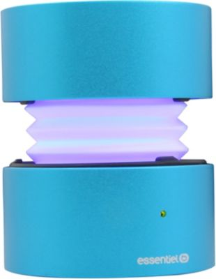 Enceinte Bluetooth Essentielb Too Spicy Ii Blue Led