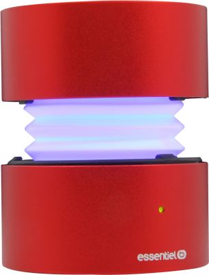 Enceinte Bluetooth Essentielb Too Spicy Ii Red Led