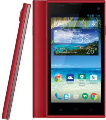 Smartphone Essentielb Connect 451 Pure Rouge