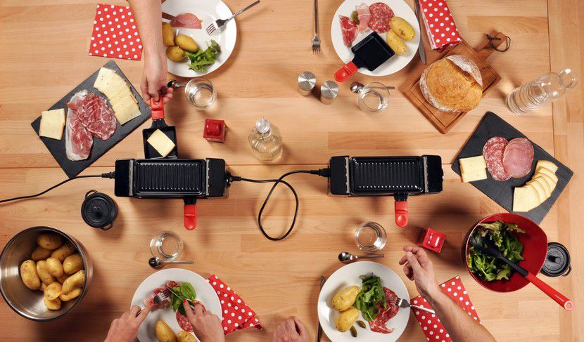 essentielb duo multiplug raclette fondue boulanger. Black Bedroom Furniture Sets. Home Design Ideas