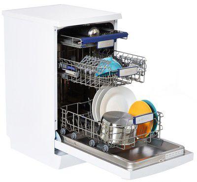 essentielb elvs3 458b blanc lave vaisselle 45 cm. Black Bedroom Furniture Sets. Home Design Ideas