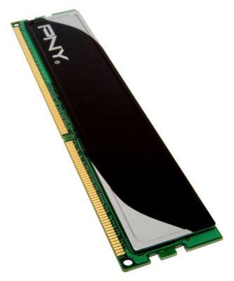 Mémoire PNY DIMM DDR3 4Go PC10660 1333Mh