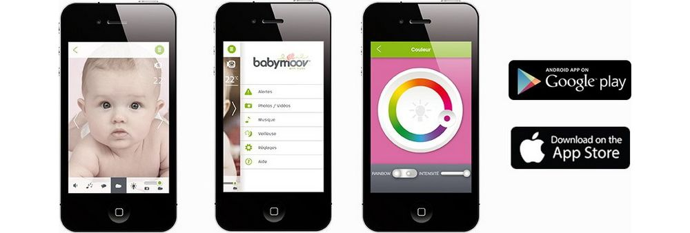 Application Babycamera