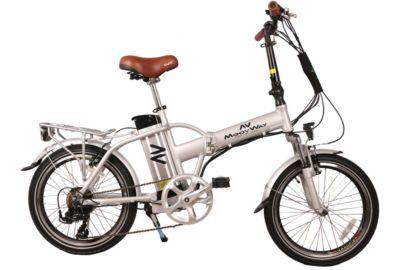 Vélo électrique MOOVWAY Urban Silver