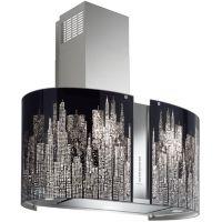 hotte d corative manhat2421 falmec. Black Bedroom Furniture Sets. Home Design Ideas