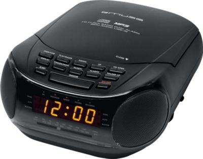 Radio Réveil Muse M-125crb