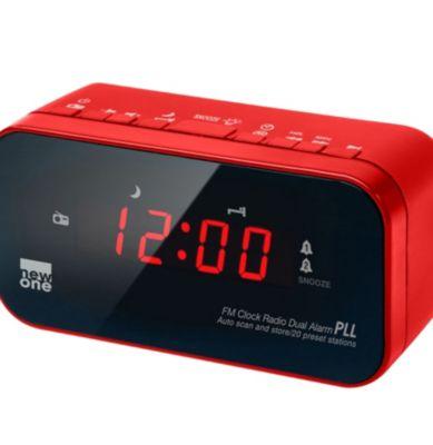 Radio Réveil Newone Cr 120 Rouge